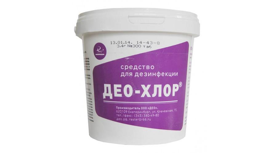 Дезинфицирующее средство Део-Хлор