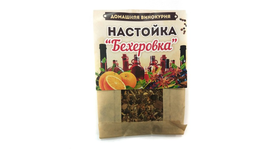 Набор для приготовления настойки БЕХЕРОВКА Домашняя Винокурня