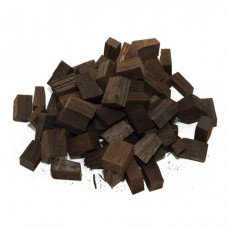 Кубики из кавказского скального дуба сильный обжиг 100 гр