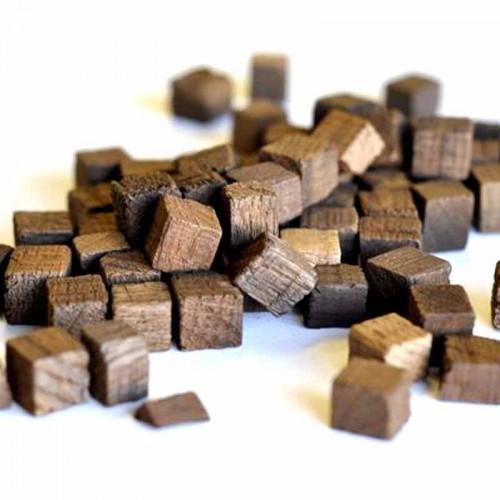 Кубики из кавказского скального дуба средний обжиг 100 гр