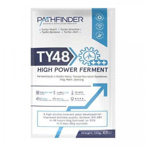 Дрожжи спиртовые Pathfinder TY48 High Power Ferment, 135 гр