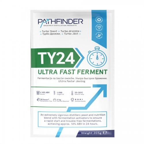 Дрожжи спиртовые Pathfinder TY24 Ultra Fast Ferment, 205 гр