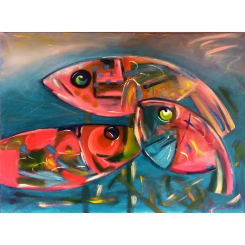 "Картина ""Рыбы"""