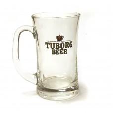 Кружка стеклянная Tuborg Beer