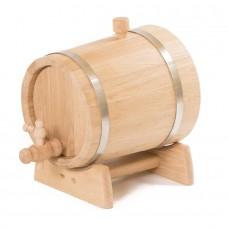 Жбан дубовый с краном на подставке 15 литров