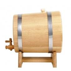 Жбан дубовый на подставке с краном 10 литров
