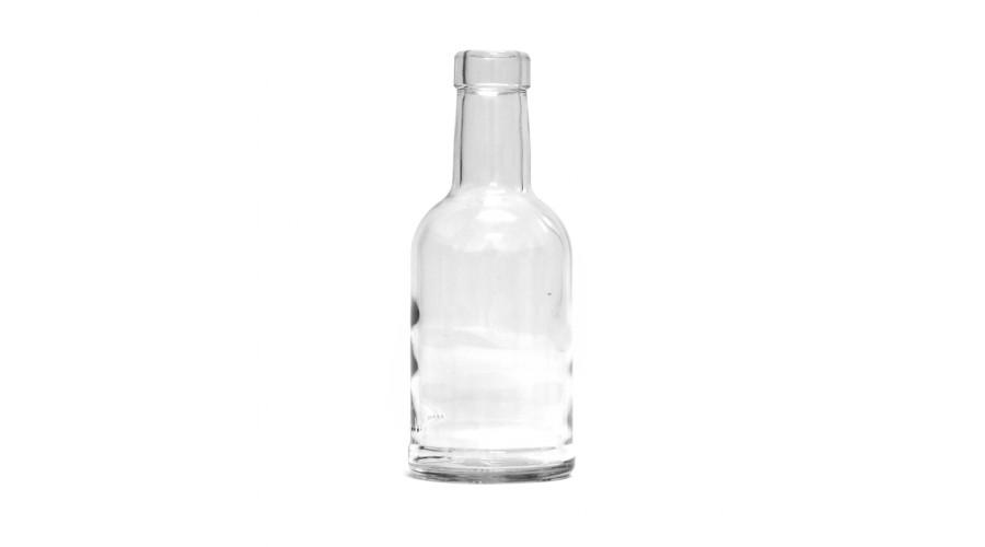 Бутылка 0,2 л. ПУЗЫРЕК под коньячную пробку
