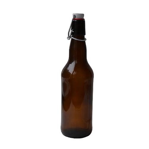 Бутылка с бугельной пробкой  0,33 л.