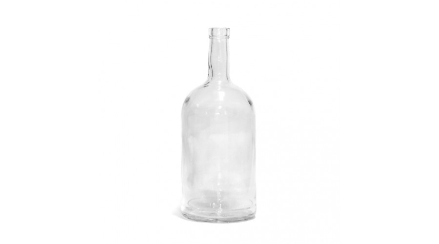 Бутылка 1 л. ПУЗЫРЬ с узким горлом