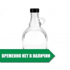 Бутылка 1,5 л. ЮЖАНКА стеклянная с удобной ручкой