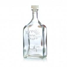 "Бутылка стеклянная ""Штоф 1/10 ведра "" 1,2 литра"