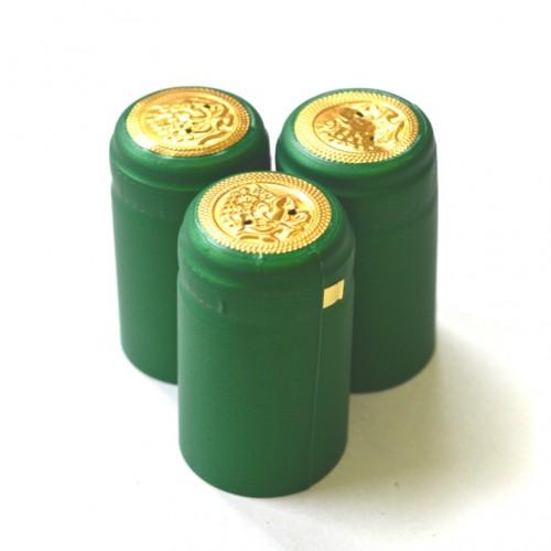 Термоусадочный колпачок зеленый