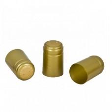 Термоусадочный колпачок золото