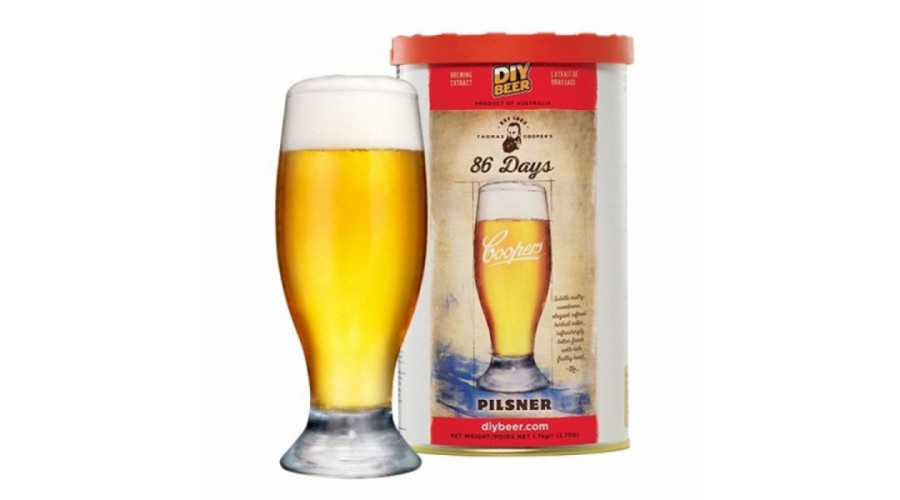 COOPERS 86 Days Pilsner 1,7 кг