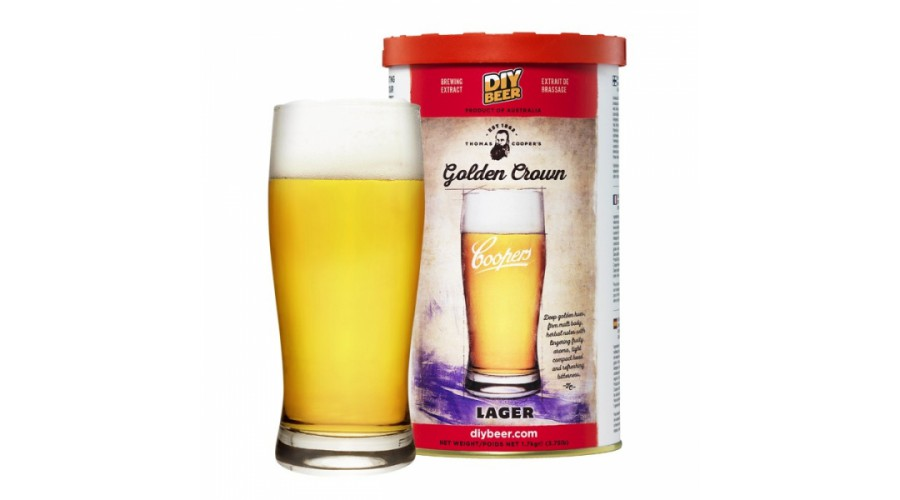 COOPERS Golden Crown Lager 1,7 кг