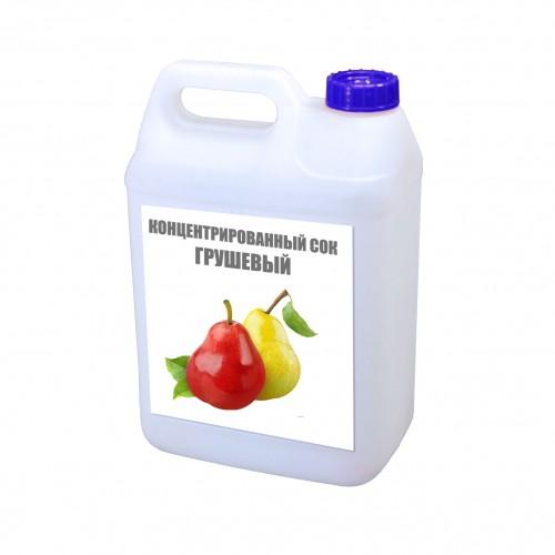 Концентрированный грушевый сок 5 кг