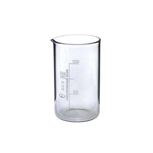 Стакан стеклянный лабораторный высокий 100 мл