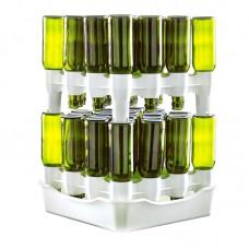 Сушилка для бутылок EASY DRAINER на 32-50 бутылок с поддоном