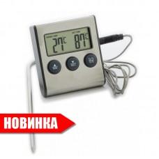 Термометр электронный с проводным термосенсором и звуковым сигналом