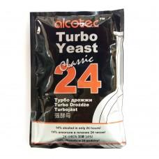 Дрожжи спиртовые Alcotec 24 TURBO, 175 гр