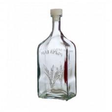 """Бутылка стеклянная """"Магарычок"""" 1200 мл"""
