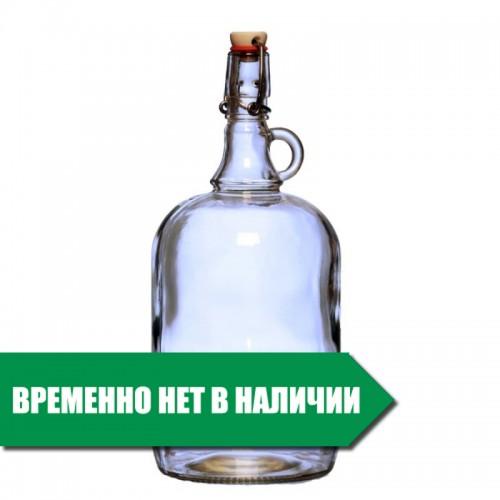 """Бутылка стеклянная """"Венеция"""" 2 литра"""