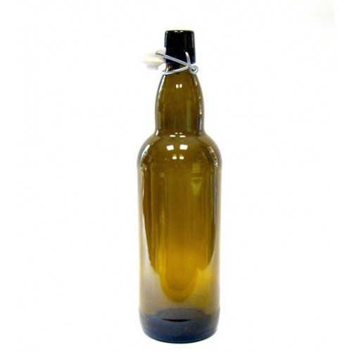 Бутылка с бугельной пробкой 1 литр