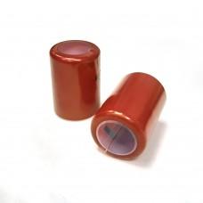 Термоусадочный колпачок бордо 35 мм