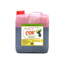Концентрированный черносмородиновый сок 5 кг