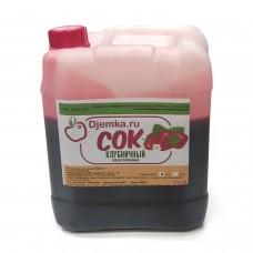 Концентрированный клубничный сок 5 кг