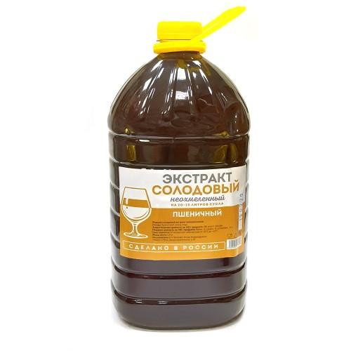 Пшеничный солодовый экстракт 3,9 кг, жидкий, неохмеленный