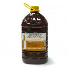 Ячменно солодовый экстракт светлый 3,9 кг, жидкий, неохмеленный